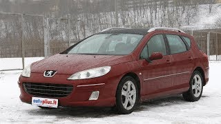 Peugeot 407 (2003-2010) - Autoplius.lt automobilių apžvalga