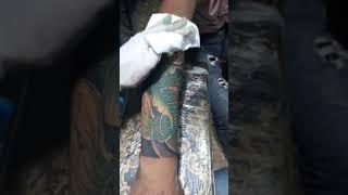 Hình xăm cá chép 5h đồng hồ.tattoo Út Lỳ FB Lỳ Đệ.0379879809