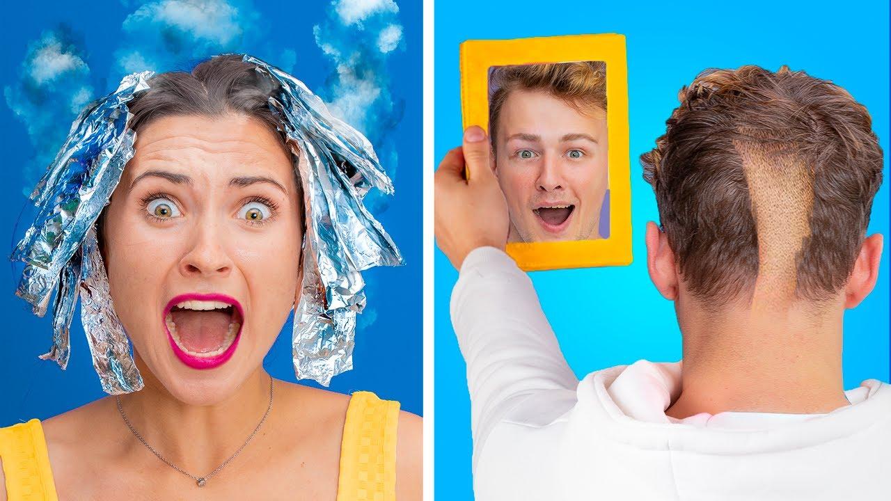 Les Types De Personnes Dans Un Salon de Coiffure/ 16 Situations Amusantes Et Embarrassantes