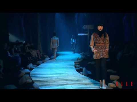 ELLE Fashion Show Fall/Winter 2011-2012 - ĐỖ MẠNH CƯỜNG Collection - Phái đẹp - ELLE