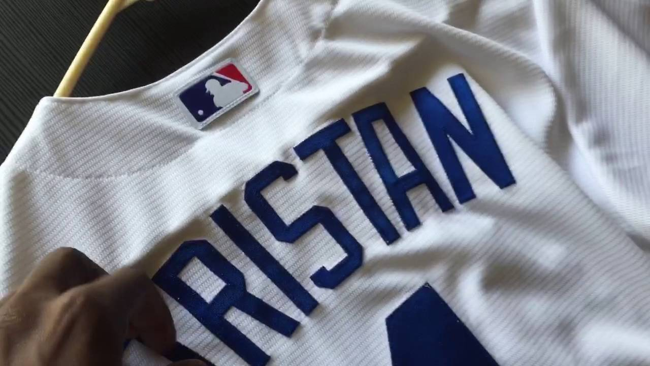 newest 6f3ff f1c92 Majestic Cool Base Replica Personalized Dodger Jersey