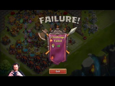 JT's Main Mino Bombing Craziness 2600 Guild Wars Score Castle Clash