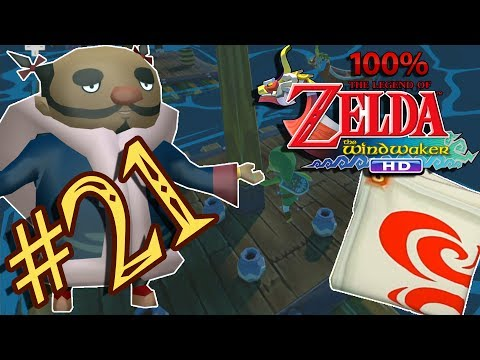 CRAZY GLITCH! Swift Sail & Tingle Bottles - The Legend of Zelda The Wind Waker HD 100% - Part 21
