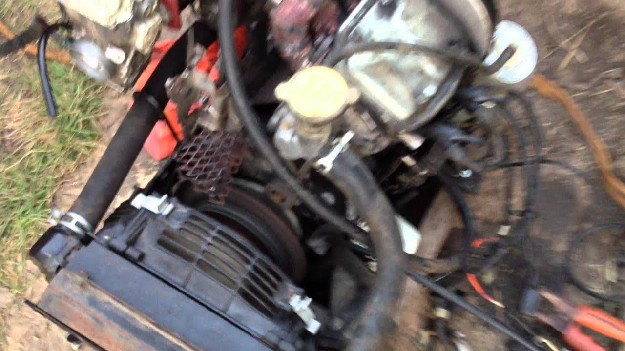 cylinder turbo honda lawnmower engine youtube