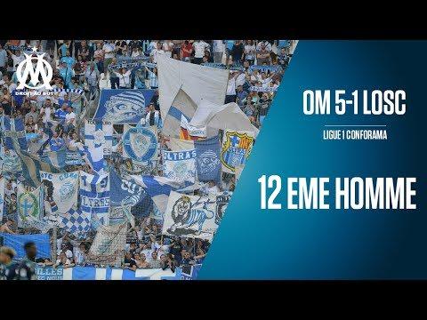 OM 5-1 Lille La victoire vue des tribunes | 12 EME HOMME