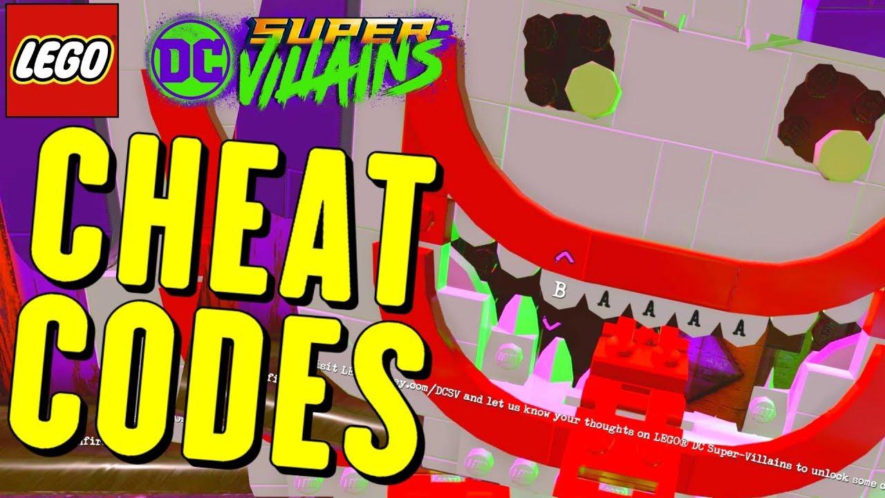 <b>LEGO DC Super Villains</b> All <b>Cheat Codes</b> (<b>Characters</b>) - YouTube