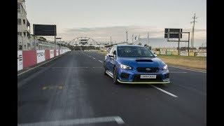 2019 Subaru WRX STI 30 year limited Diamond Edition technical development video