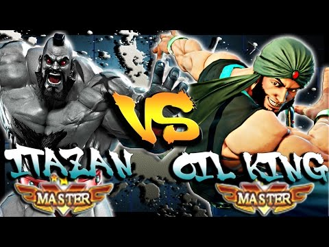 SFV - Itazan ( Zangief ) Vs Oil King ( #1 Rashid ) * First to 5 * - SF5