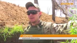 Бойцы АТО сняли на видео запрещенные Грады-Партизаны боевиков