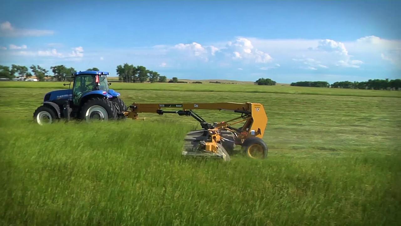Makin' Hay Minute: Harvesting: Mower Conditioners vs  Disc Mowers
