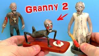 Фото Лепим БАБКУ ГРЕННИ и РЕБЕНКА СЛЕНДЕРИНЫ из игры Granny Chapter Two  Гренни 2