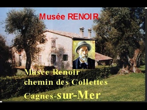mus e renoir domaine des collettes cagnes sur mer novembre 2014 youtube. Black Bedroom Furniture Sets. Home Design Ideas