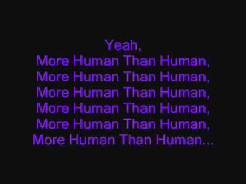 White Zombie More Human Than Human(With Lyrics).wmv