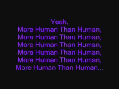White Zombie More Human Than Humanwith Lyricswmv Youtube