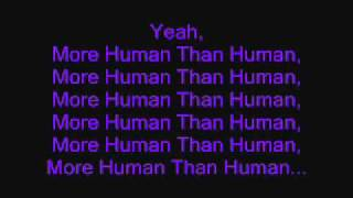 White Zombie More Human Than Human(With Lyrics).wmv