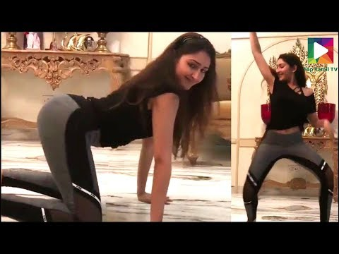 Sayesha saigal latest hot dance video,...
