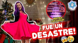 GRABÉ UN COMERCIAL NAVIDEÑO!! DESTRUÍ EL ESCENARIO!!😱 VLOGMAS 8 🎄23 Dic 2019 | Leyla Star 💫