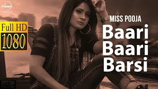 Baari Baari Barsi | full song | Miss Pooja | G Guri | Latest Punjabi Song 2017�😊