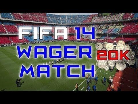 FIFA 14 20k Wager Match vs Hørsholm Fut!!