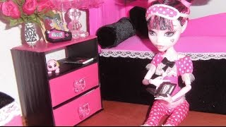 How To Make A Nightstand For Doll (monster High, Eah, Barbie, Etc)