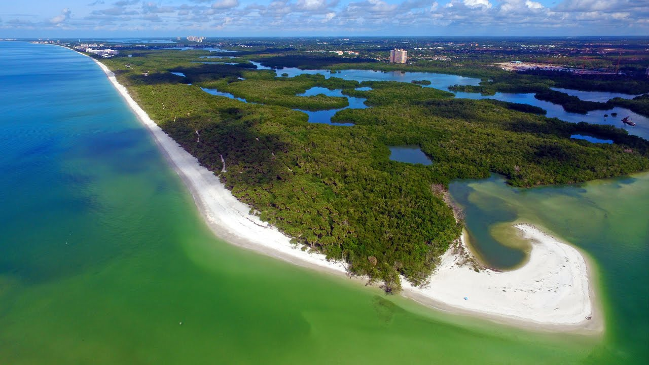Exclusive 4k Aerial Video Tour Of Barefoot Beach Preserve Naples Fl