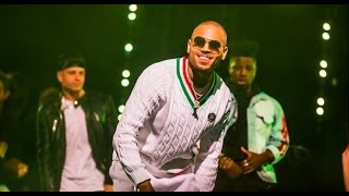 "Chris Brown performs ""Kriss Kross"" & ""Party"" at Drai"