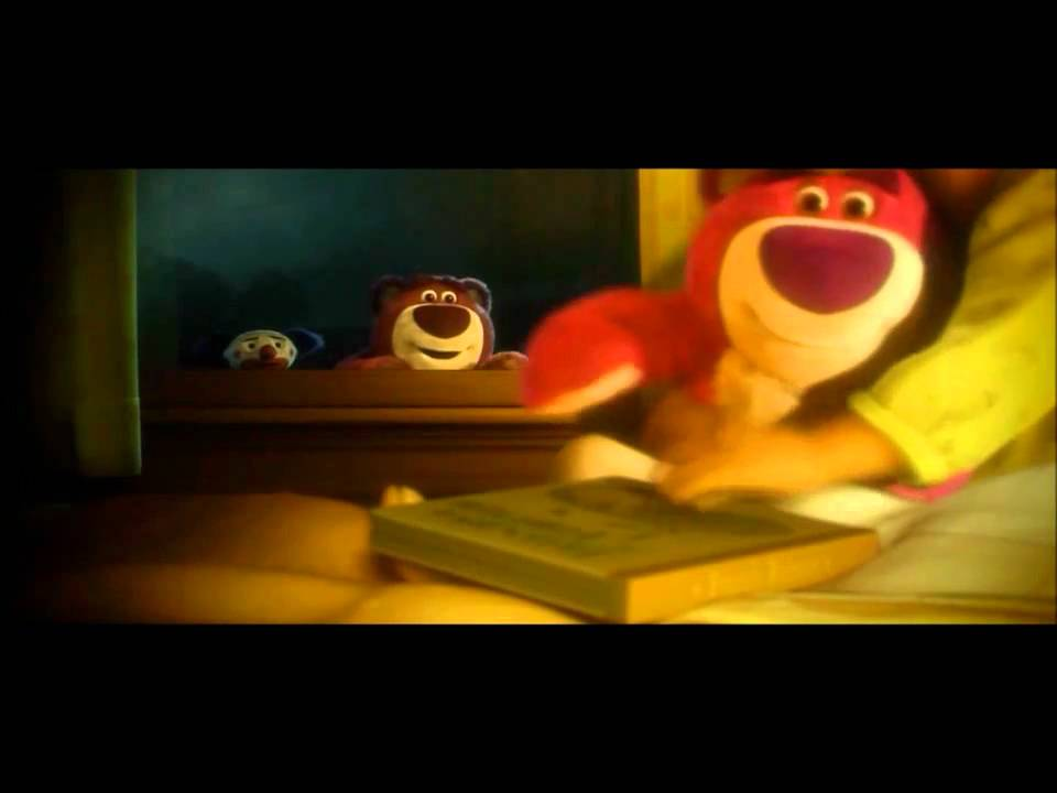 Teddy bear scene three