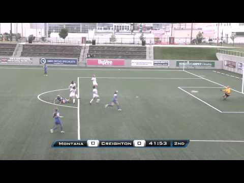 Creighton Women's Soccer vs. Montana Highlights (9-15-13)