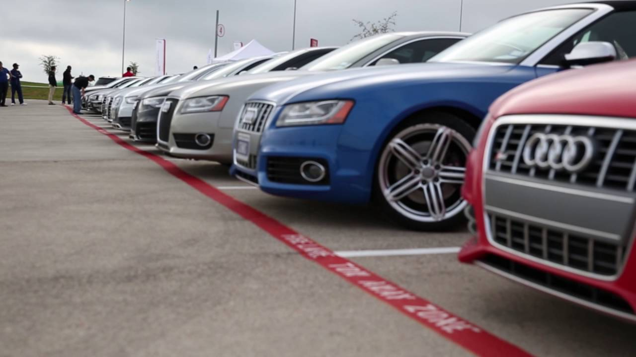Audi Club Of North America At Circuit Of The Americas Cota Youtube