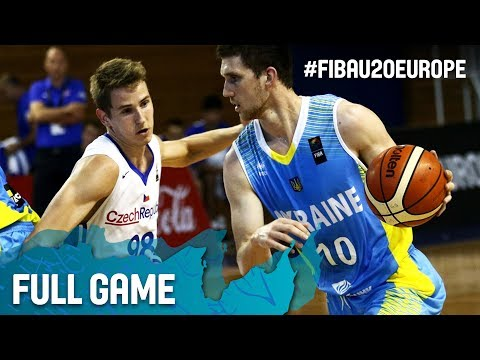 Czech Republic v Ukraine - Full Game - Classification 9-16 - FIBA U20 European Championship 2017