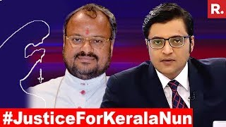 Is The Bishop Escalating Slander Campaign Against The Nun? | The Debate With Arnab Goswami