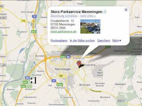 Parken Flughafen Memmingen Airport Parkplatz Parkgebühren