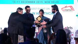 Elets Healthcare Award 2019 : Shalabh Dang, Head Domestic Sales, Fortis Healthcare