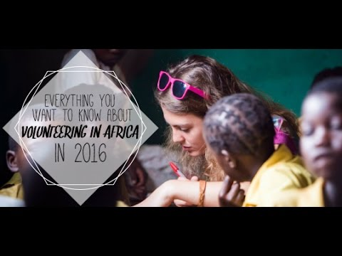 Volunteering In Africa In 2017: Everything You Want To Know | IVHQ Webinar