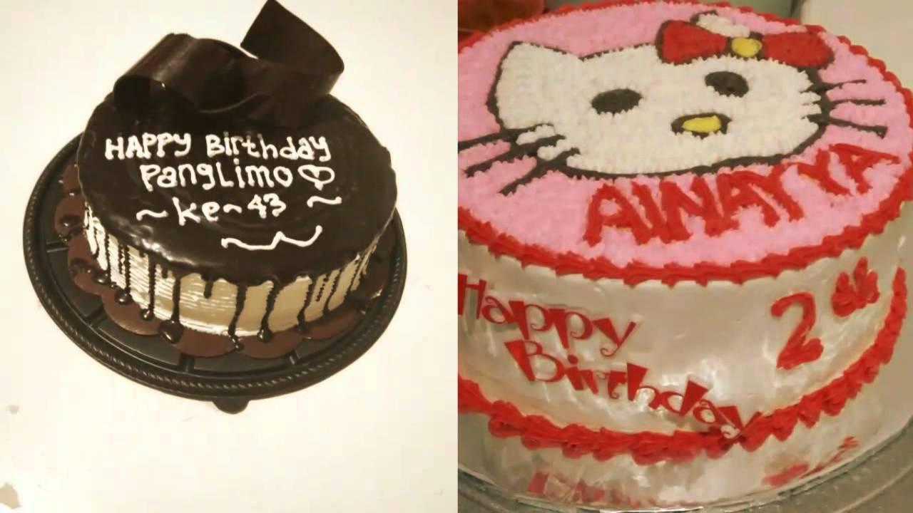 Kue ulang tahun bojong gede Bogor YouTube
