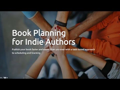 Book Planning for Indie Authors Webinar Replay