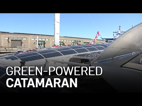 Green-Powered Catamaran Could Lead to Big Changes in Shipping Industry