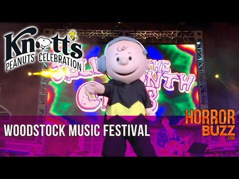 Woodstock's Music Festival - Knott's Peanuts Celebration