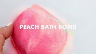 Peach Bath Bomb | Lush Demo