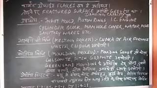 Grey cast iron (in Hindi) by N R PRASAD.