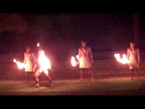 Fire Dancers Polynesian Cultural Center, Hawaii