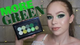 My Perfect Green Palette + Swatches