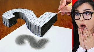 Download How To Draw 3D ART illusion On Paper Mp3 and Videos