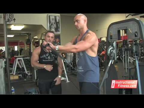Instructional Fitness - Cable Cross-over