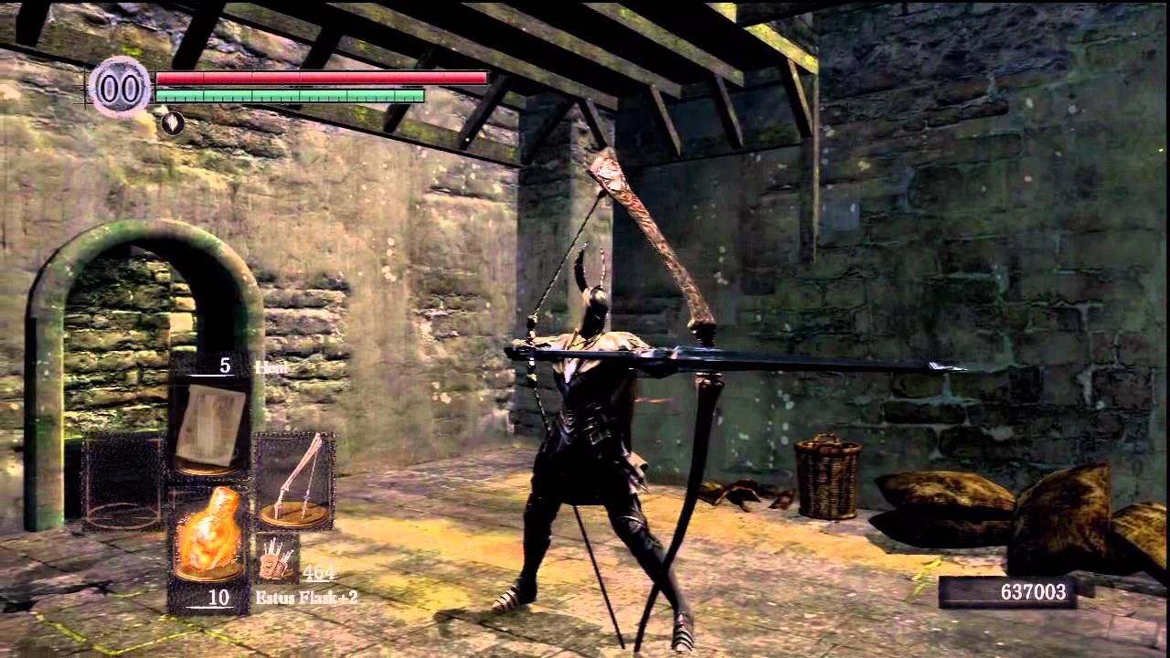 Dark souls how to make bows viable