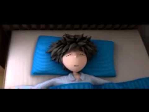 Мультфильм о тяжелом пробуждении по утрам