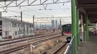 227系 普通 白市行 天神川発車