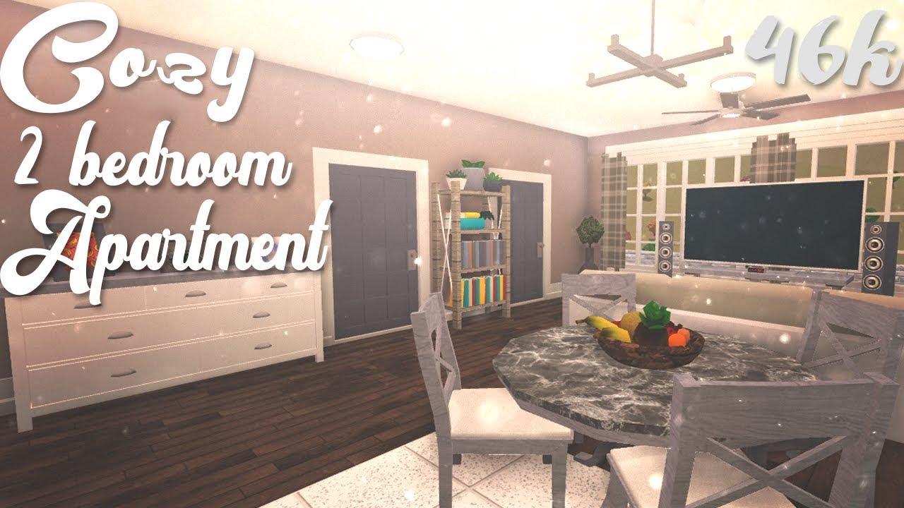 Cozy 2 Bedroom Apartment   Bloxburg - YouTube