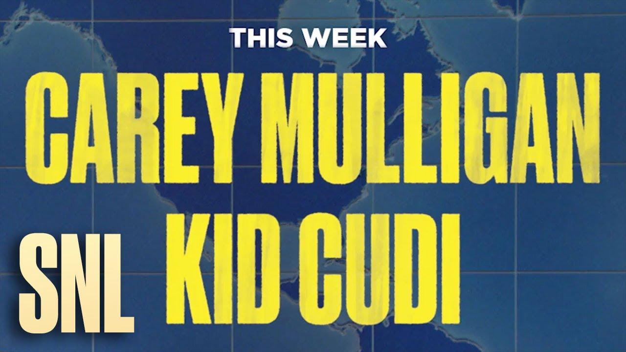 Carey Mulligan Is Hosting Saturday Night Live!