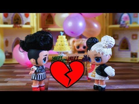 LOL SURPRISE DOLL Harper Breaks Up With Her Boyfriend!